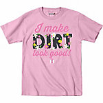International Harvester Girl's Infant/Toddler I Make Dirt Look Good Short Sleeve Tee