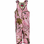 Berne Infant Girl's Pink Realtree Camouflage Quilt-Lined Insulated Bib Overall