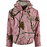 Berne Women's Pink Realtree Camouflage Sherpa-Lined Insulated Hooded Jacket