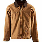 Berne Men's Washed Duck Fleece-Lined Gasoline Jacket