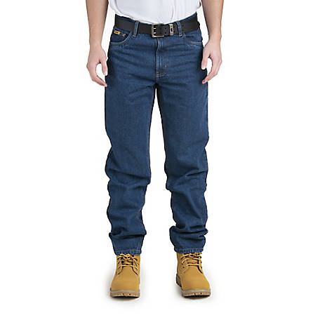 Berne Men's Relaxed Fit Stone Washed 5-Pocket Jean