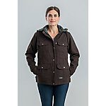 Berne Women's Sanded Duck Quilted Flannel-Lined Ranch Coat