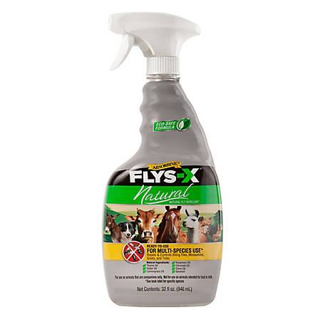 Absorbine Flys-X Natural Fly Repellent, 32 oz. Spray