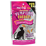 Pro Pac Tempting Tidbits Crunchy Chicken & Liver Flavor Cat Treats
