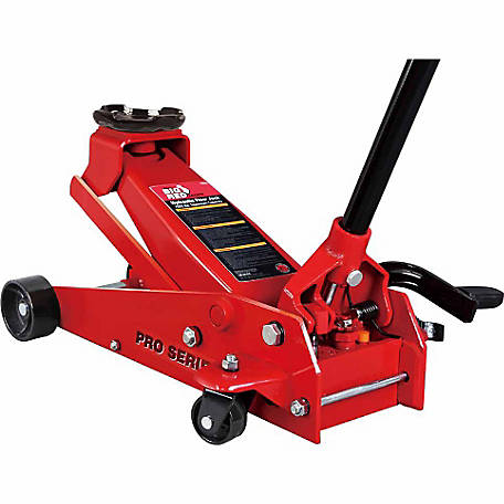 Big Red 3-1/2 Ton Garage Jack