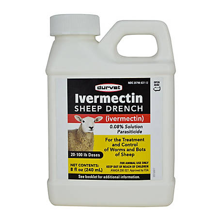 Durvet Ivermectin Sheep Drench, 240 mL at Tractor Supply Co