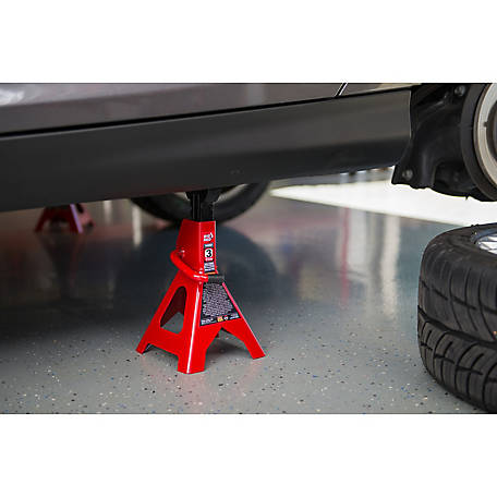 Torin Big Red T43002 3-Ton Jack Stand, Red