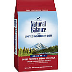 Natural Balance L.I.D. Limited Ingredient Diets Sweet Potato & Bison Formula Dry Dog Food, 26 lb.