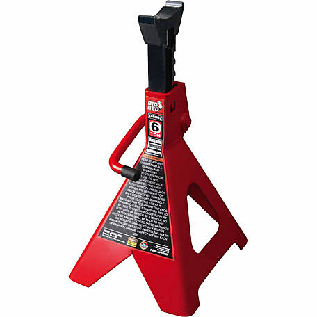 Big Red Torin 6-Ton Ratchet Action Jack Stand