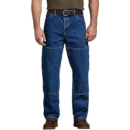 Dickies Men's Relaxed Fit Double Knee Carpenter Denim Jean