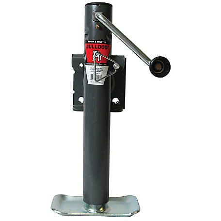 Bulldog Weld-On Swivel Trailer Jack, Sidewind, 151101TS
