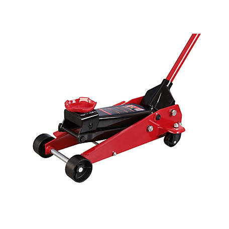 Torin Big Red T83002 3-Ton Pro Series 6000 Hydraulic Floor Jack with Large Diameter Single Piston Pump, Red
