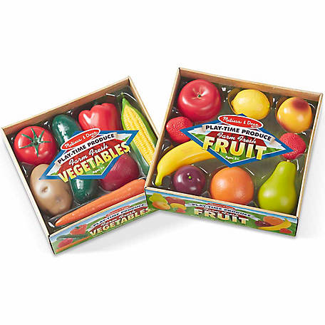 Melissa & Doug Combo Fruit & Veggies Set