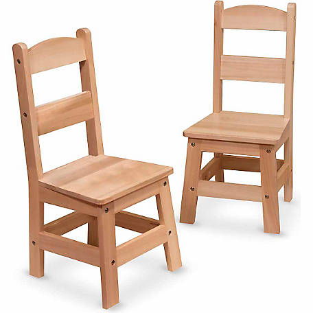 Melissa Doug Children S Wooden Chair Pair At Tractor Supply Co