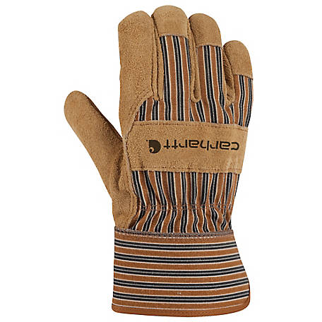 Carhartt Men's Suede Work Safety Cuff Gloves