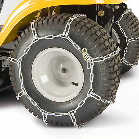 Arnold Lawn Tractor Rear Tire Chains, 18 in. x 9-1/2 in. x 8 in. and 19 in. x 9-1/2 in. x 8 in.