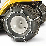 Arnold Lawn Tractor Rear Tire Chains, 23 in. x 10-1/2 in. x 12 in. and 24 in. x 9-1/2 in. x 12 in., 490-241-0026