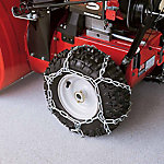Arnold Snow Thrower Tire Chains, 16 in. x 6-1/2 in., 490-241-0029