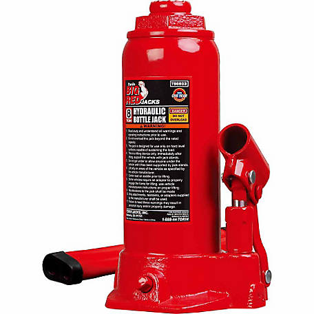 Big Red 8 Ton Bottle Jack