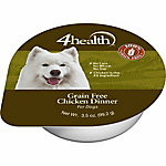 4health Grain Free Chicken Dinner Dog Food, 3.5 oz. Can