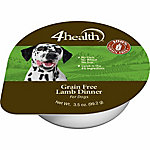 4health Grain Free Lamb Dinner Dog Food, 3.5 oz. Can