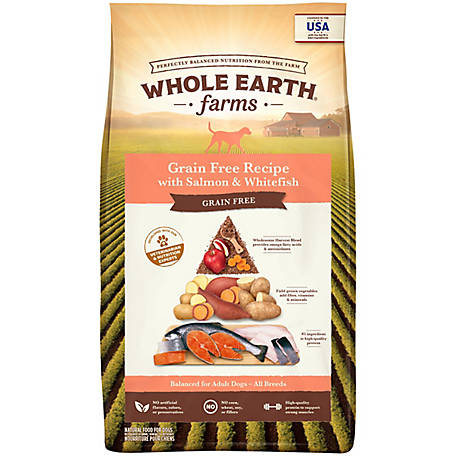 Whole Earth Farms Salmon & Whitefish Recipe, 25 lb.