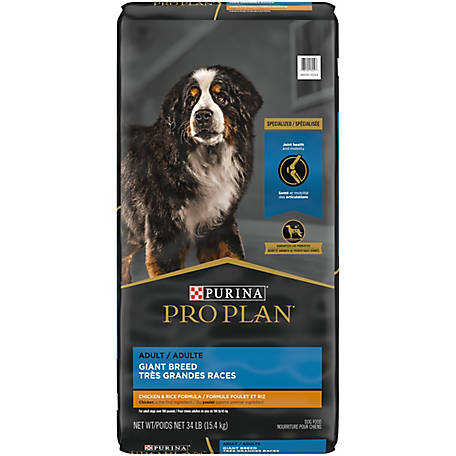 Purina Pro Plan High Protein Giant Breed Dry Dog Food; FOCUS Giant Breed Formula - 34 lb. Bag
