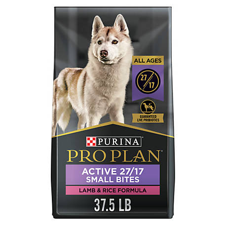 Purina Pro Plan Dry Dog Food; FOCUS Small Bites Lamb & Rice Formula - 37.5 lb. Bag
