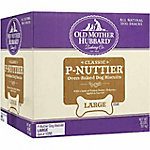 Old Mother Hubbard Classic P-Nuttier Oven-Baked Dog Biscuits, Large, 20 lb.