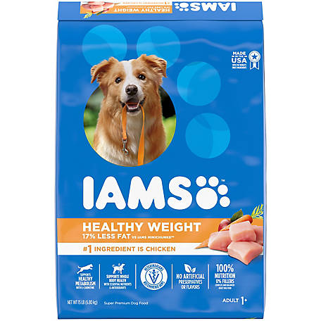 Iams Proactive Health Adult Healthy Weight Dry Dog Food, 15 lb.