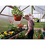 Exaco Heavy-Duty Seed Trays for Riga Greenhouse, 24 in. W x 16 in. L x 3-1/2 in. H