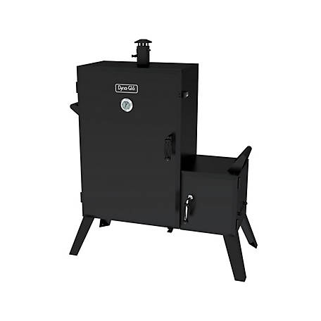 Dyna-Glo 36 in. Wide Body Charcoal Offset Smoker