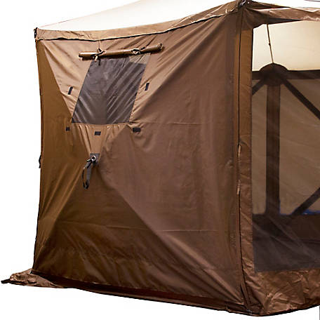 Polar Wind Panels with Windows, Pack of 2, Brown, 9897