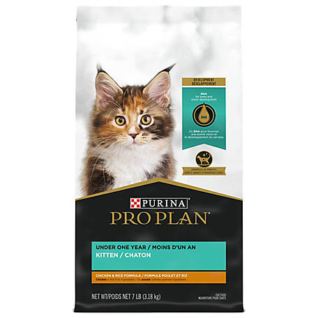 Purina Pro Plan FOCUS Chicken & Rice Formula Dry Kitten Food - 3.5 lb. Bag