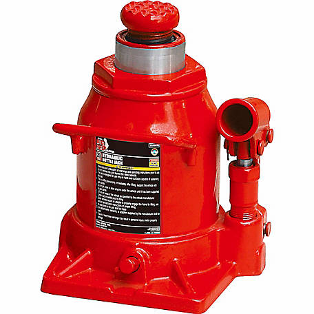 Big Red 20 Ton Stubby Hydraulic Bottle Jack
