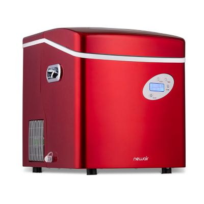 NewAir 50 lb. Portable Ice Maker; Red