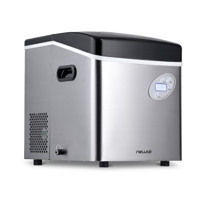 NewAir 50 lb. Stainless Steel Portable Ice Maker
