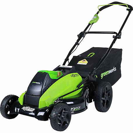 GreenWorks DigiPro G-MAX 40V 19-Inch Cordless Lawn Mower