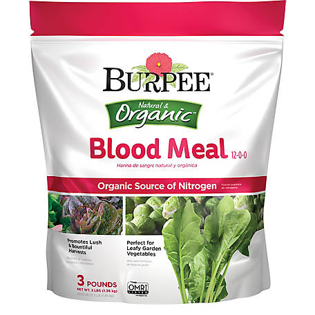 Burpee Natural and Organic Blood Meal Plant Food, BP3BL