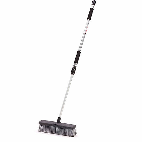 JobSmart 14 in. Wash Brush with Telescopic Handle