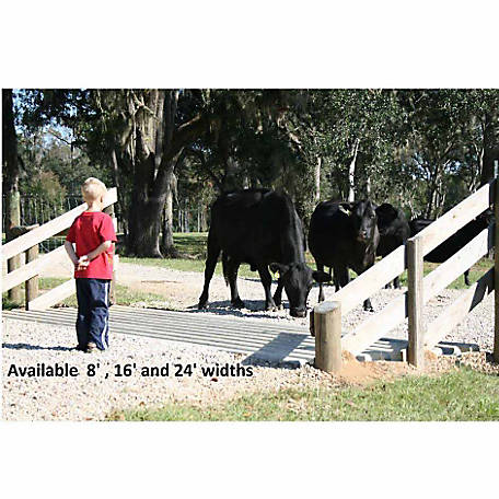 Texan Cattle Guard Forms, 8 ft , 16 ft , & 24 ft  at Tractor Supply Co