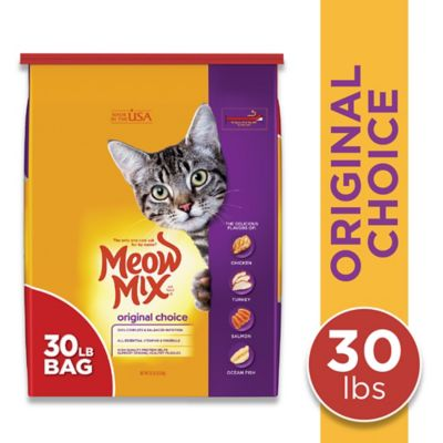 Meow Mix Original Choice Dry Cat Food; 30 lb. Bag