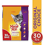 Meow Mix Original Choice Dry Cat Food, 30 lb. Bag