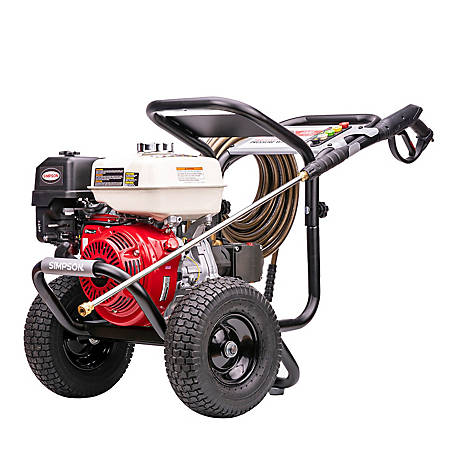 Simpson PowerShot 4,000 PSI at 3.5 GPM HONDA GX270 Cold Water Professional Gas Pressure Washer, 60869