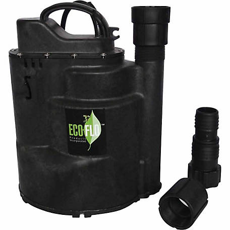 ECO-FLO SUP58 Submersible Utility Pump