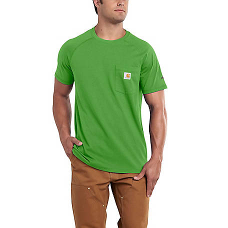 Carhartt Men's Short Sleeve Solid Force T-Shirt