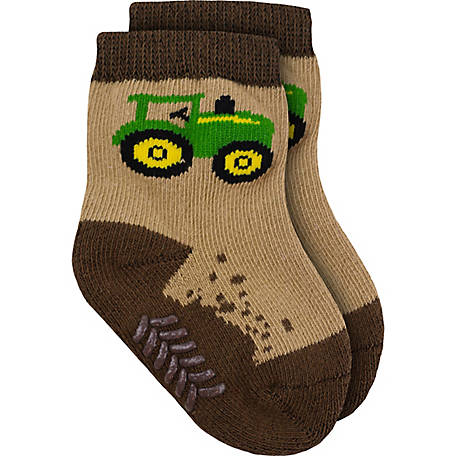 John Deere Kids' Dirt Crew Sock