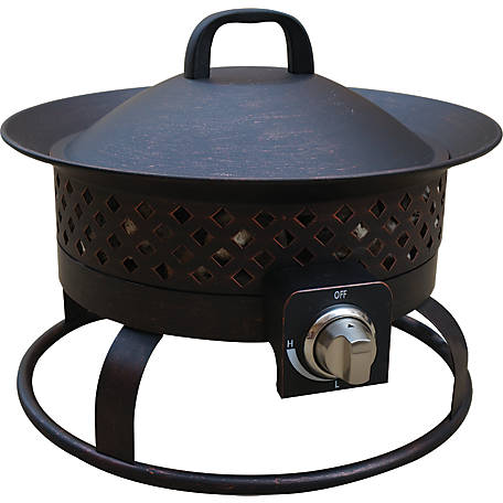 Bond Aurora Steel Gas Fire Bowl