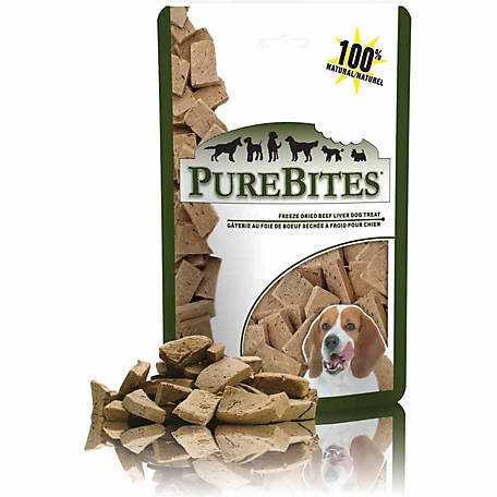 PureBites Freeze Dried Beef Liver Dog Treats, 16.6 oz.