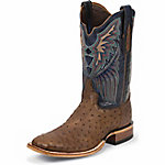 Tony Lama Men's Kango Lux Black Label Ostrich Western Boot